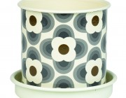 Orla Kiely Medium Plant Pot