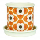 Orla Kiely Small Plant Pot