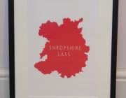 Shropshire Lass Framed Print