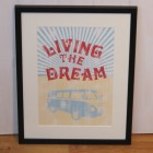 Living the Dream Framed Print