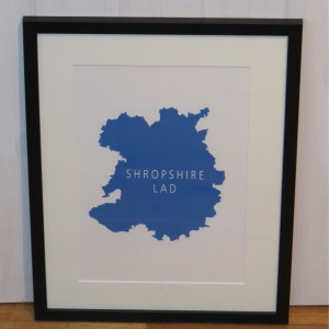 Shropshire Lad Framed Print
