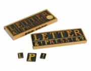Letter Press Fridge Magnets