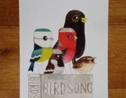 Birdsong - Birds & Books A4 Print
