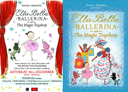 Ella Bella Ballerina & The Magic Toyshop Story Time & Ballet Workshop