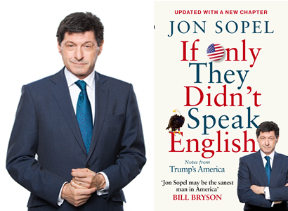 An Evening with Jon Sopel – Notes from Trump's America