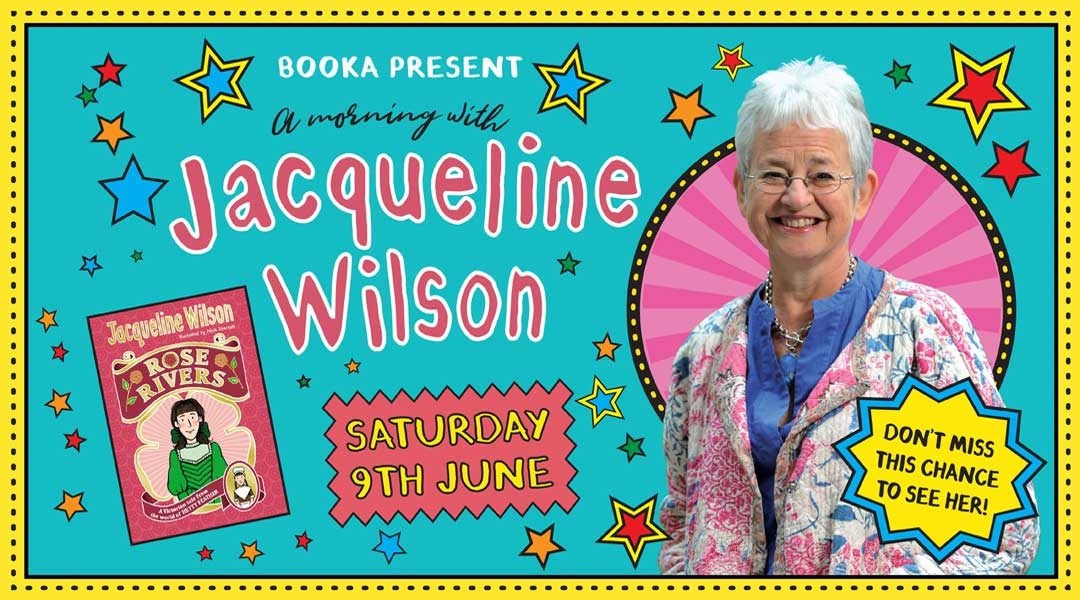 A Morning with Jacqueline Wilson