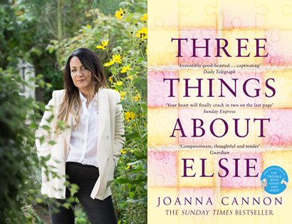 Joanna Cannon – Three Things About Elsie