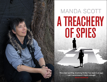 Manda Scott – A Treachery of Spies