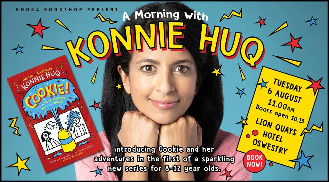 Join Booka and Konnie Huq for a Morning of Fun
