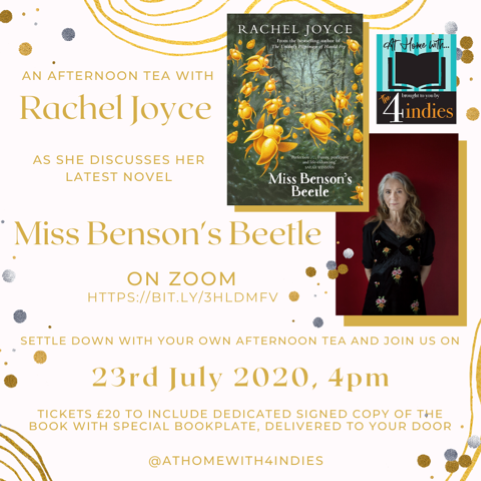 Afternoon Tea with Rachel Joyce – Miss Benson's Beetle