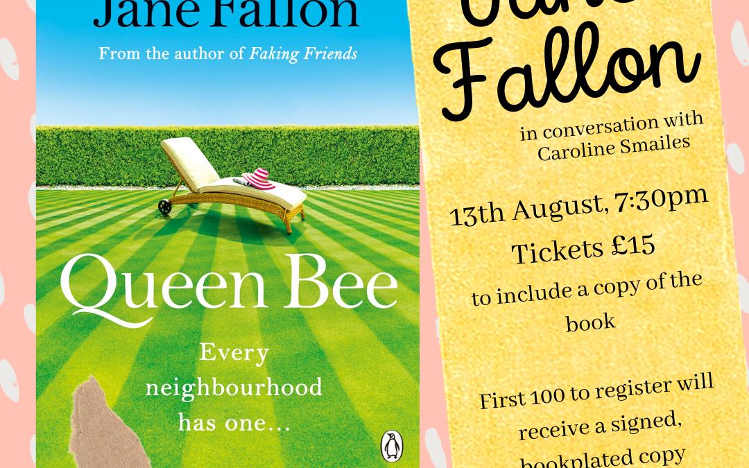A Virtual Evening with Jane Fallon – Queen Bee
