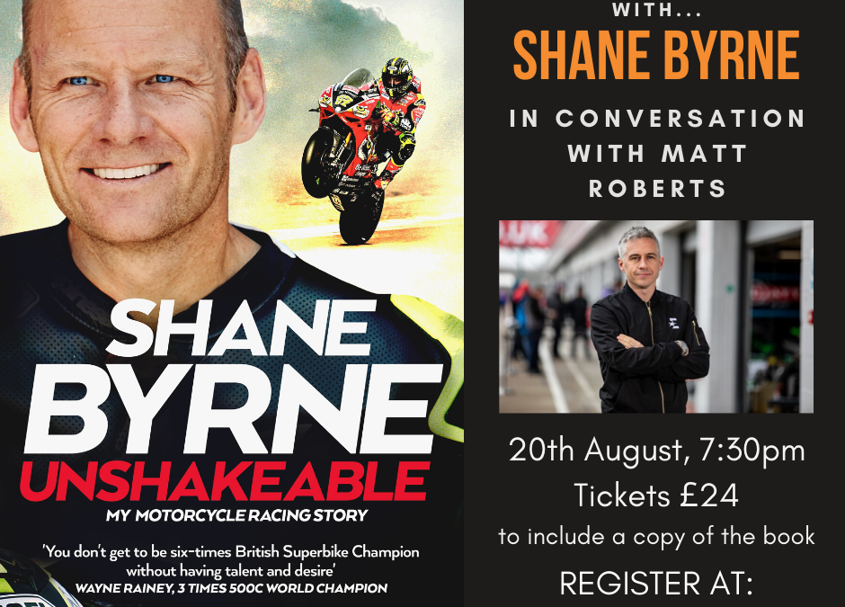 An Virtual Evening with Shane 'Shakey' Byrne – Unshakeable