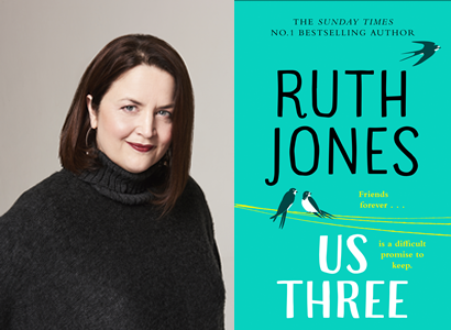 Ruth Jones in conversation with Hannah Beckerman – Us Three