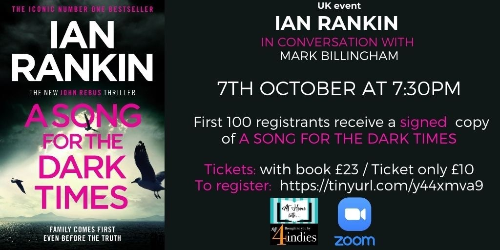 Ian Rankin – A Song for the Dark Times – Live Stream