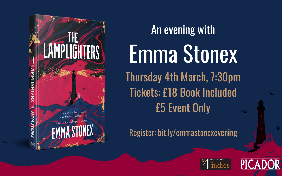 An Evening with Emma Stonex – The Lamplighters