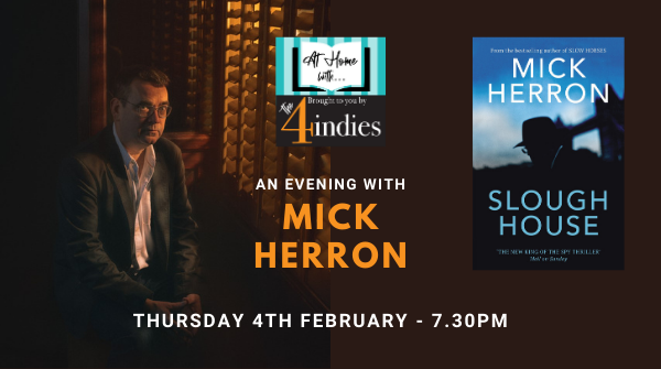 An Evening with Mick Herron – Slough House