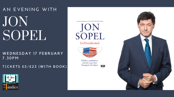 An Evening with Jon Sopel – UnPresidented