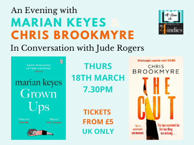 An Evening with Marian Keyes & Chris Brookmyre
