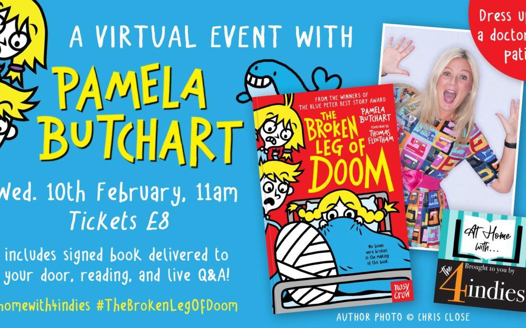 A Virtual Event with Pamela Butchart – The Broken Leg of Doom