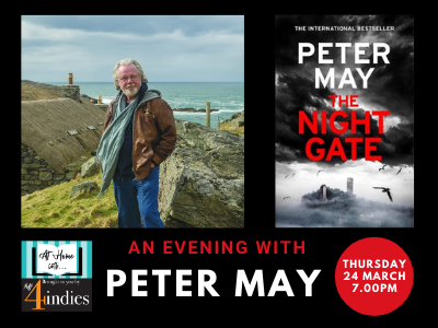 An Evening with Peter May – The Night Gate
