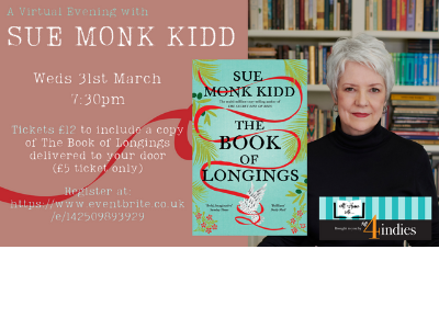 An Evening in with Sue Monk Kidd