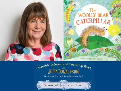 Julia Donaldson – The Woolly Bear Caterpillar