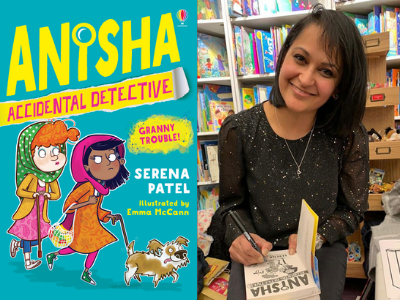 Accidental Detective Tea Party with Serena Patel