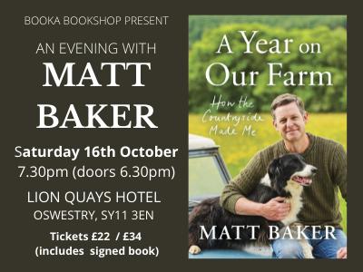 An Evening with Matt Baker
